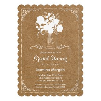 Rustic Mother's Day Invitation