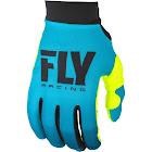 Fly Racing Women's Pro Lite Gloves - Blue/Hi-Vis