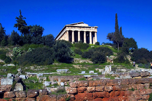 THE ANCIENT AGORA OF ATHENS, GREECE