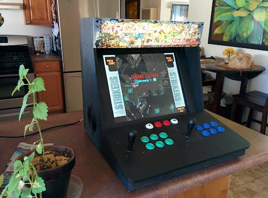 Bartop Video Arcade from an Old PC - Make: