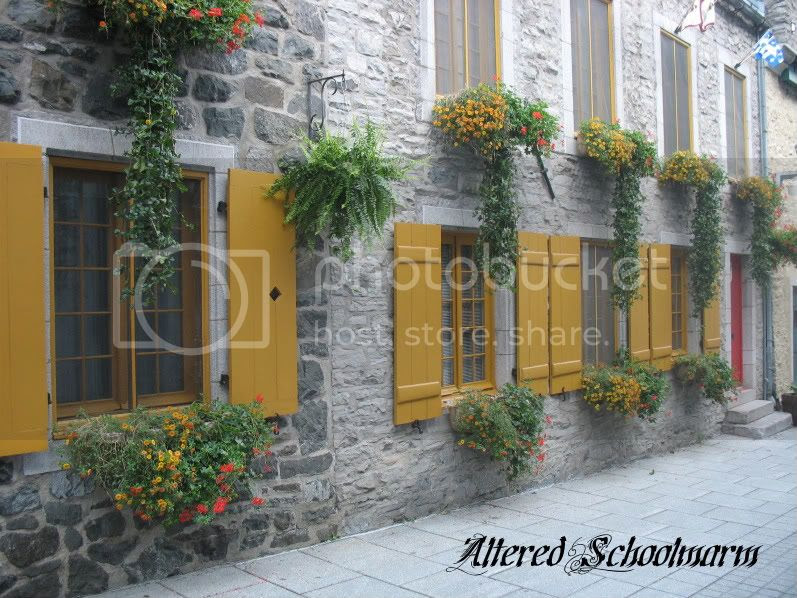 Yellow Shutters Quebec City