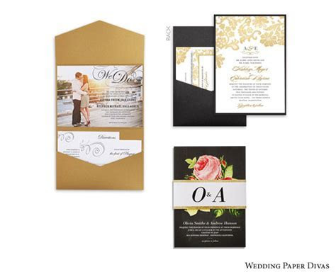 DIY Details for Your Wedding Invitation Suite   Wedding