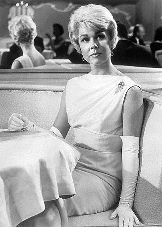 An evening dress worn by Doris Day in Pillow Talk