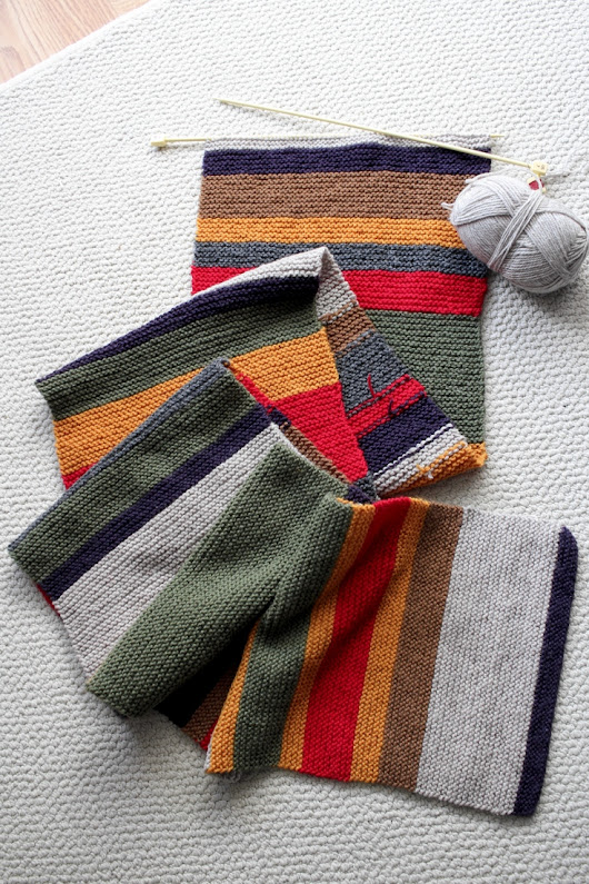 Long Term Project: The Doctor Who Scarf
