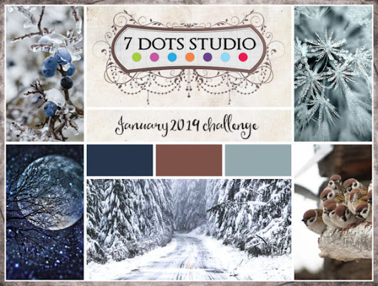 OH MY GOD!!! I'm a Guest Designer at 7Dots Studio!
