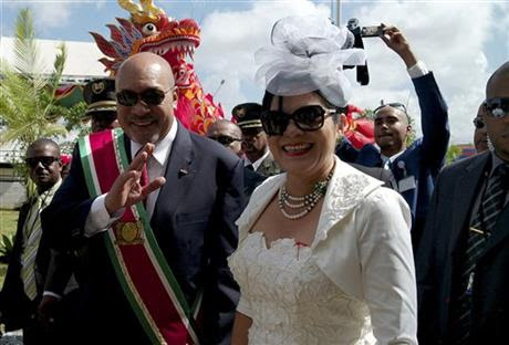 Bouterse inaugurated for 2nd term as Suriname's president