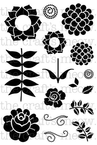 Folk Art Blooms