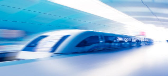 China's Maglev Train Prototype Could Reach Speeds of 1,800 MPH