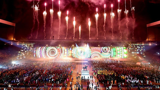Commonwealth Games, Glasgow 2014: Opening Ceremony