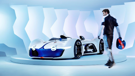 Renault's Alpine Vision GT is an outrageous race car for Gran Turismo and real life