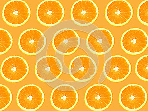 Seamless Oranges background