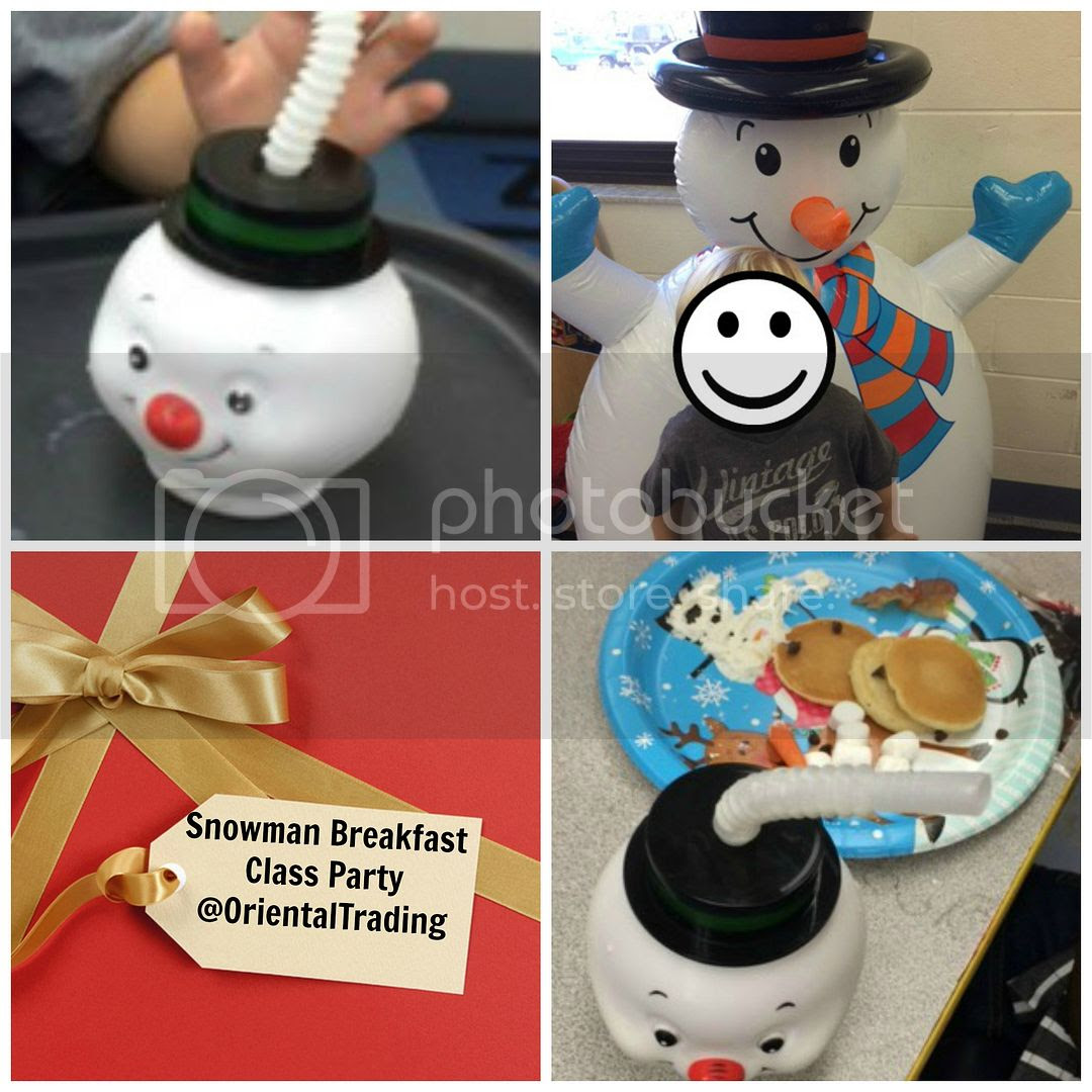 Snowman Breakfast Class Party @OrientalTrading photo snowman class party.jpg