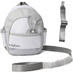 Lulyboo Toddler Safety Harness Backpack with Detachable Wrist Tether