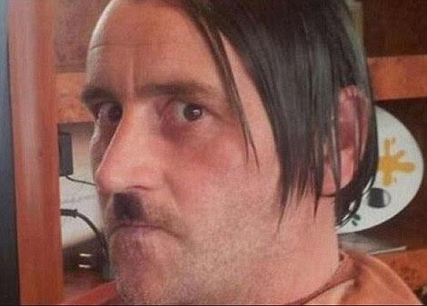 Pegida leader Lutz Bachmann was pictured posing as Adolf Hitler