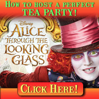 Download Alice Through The Looking Glass, How To Host A Perfect Tea Party