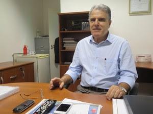 Vereador Ademir Pestana foi o autor do projeto de lei (Foto: Mariane Rossi/G1)