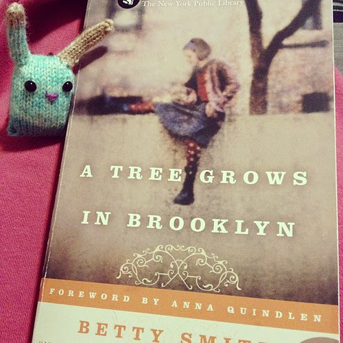 Second bunny nugget and a new book. We haven't had one trick or treater tonight!