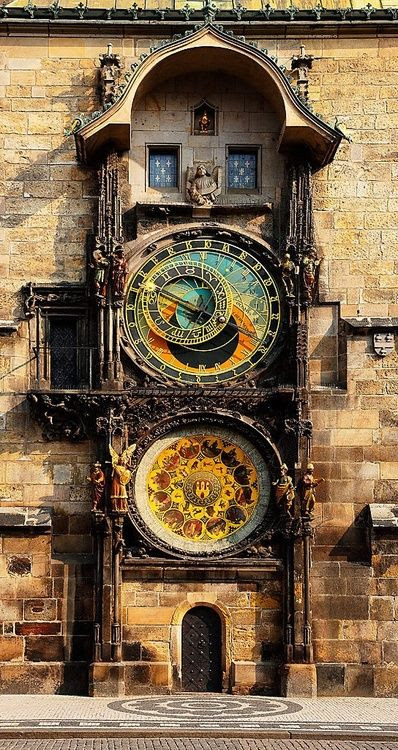 Astronomical Clock,                                                            Prague, Czech                                                            Republic**.