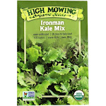 High Mowing Organic Seeds - Organic Ironman Kale Mix Seeds - 1 Packet