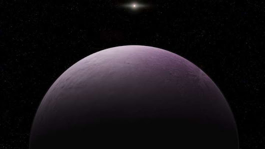 Pink Dwarf Planet Discovered In Our Solar System