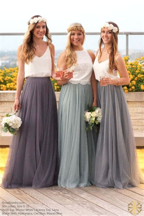 Skylar Tulle Skirt   Bridesmaid and Groomsman Inspiration