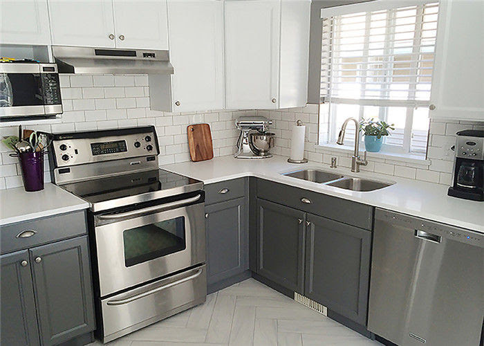 Marple Solid Wood Kitchen Cabinets Shaker Style Paint ...