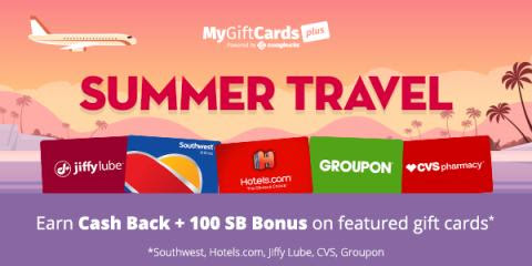 MyGiftCardsPlus Summer Travel Promotion! - Day to Day Life
