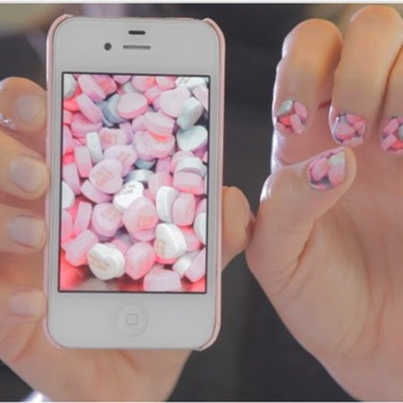 Turn your cameraphone photos into nail stickers