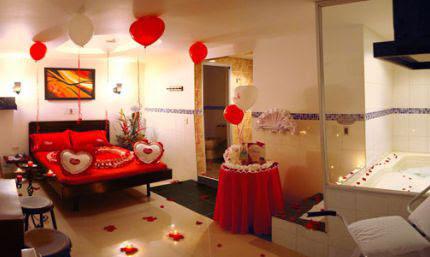 Bellas habitaciones romanticas con globos im genes de for Cuartos decorados para una noche de amor