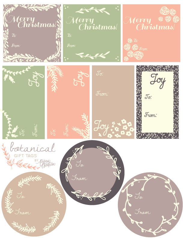 christmas label templates   Worldlabel Blog