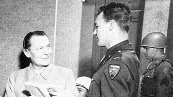 Göring cultivó adrede la amistad del teniente Jack Wheelis