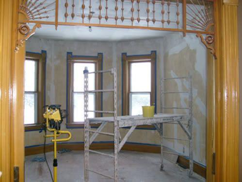 Plaster Repair - Parlor