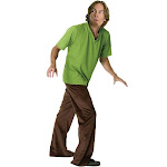 Rubie's Costumes Men's Scooby-Doo Shaggy Costume, Green/Brown