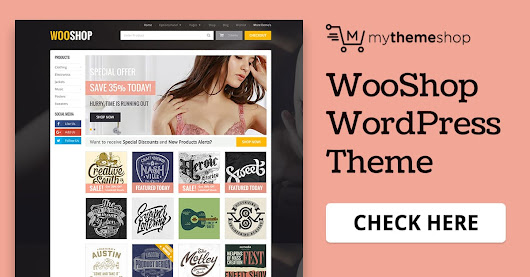 WooShop - Premium WooCommerce WordPress Theme @ MyThemeShop