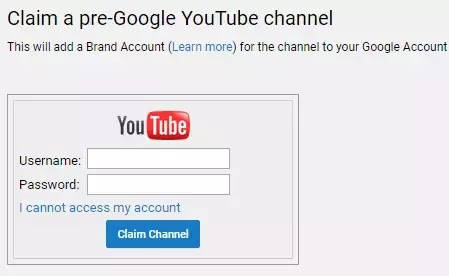 Youtube Sign In With Username