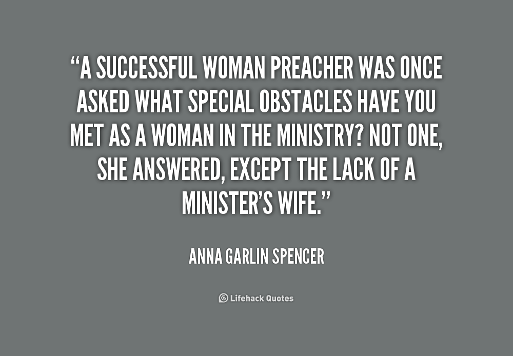Quotes About Woman Preaching 36 Quotes