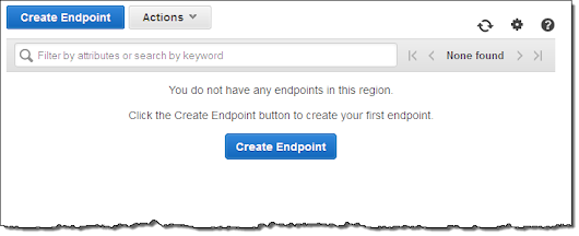 New – VPC Endpoint for Amazon S3