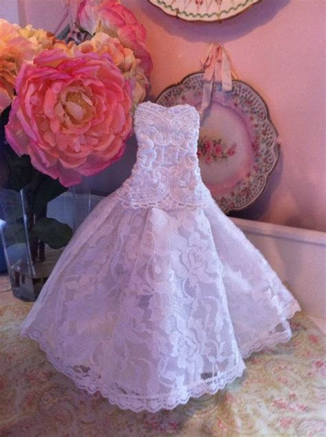 Wedding Bridal dress champagne wine bottle cover table
