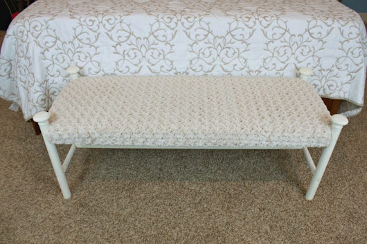 Bench Makeover: A Simple DIY - Fairfield World Craft Projects