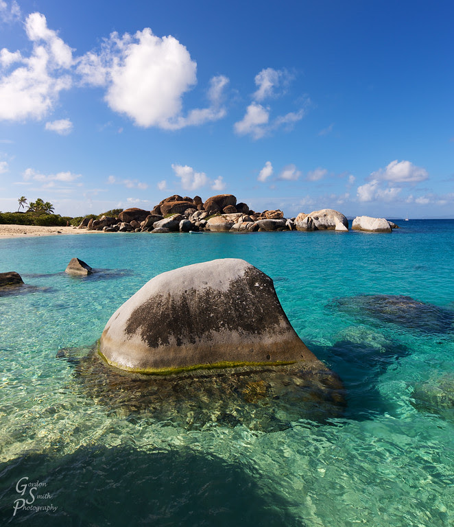 virgin gorda bvi baths boulder caribbean