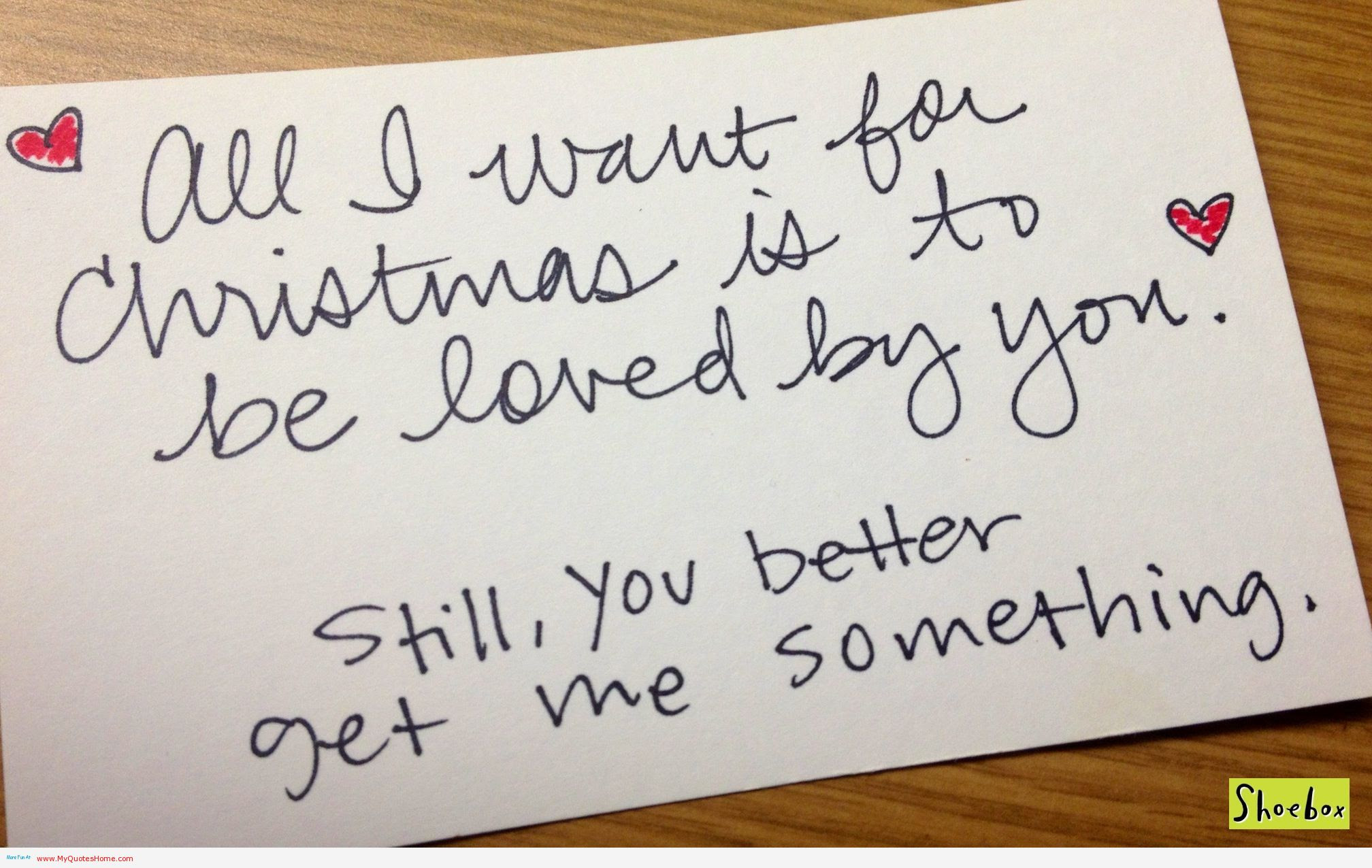 For Christmas Is All I Want You Quotes QuotesGram ➤ Christmas Love Quotes For Him Tumblr