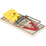 Victor Mouse Traps, Easy Set - 4 traps