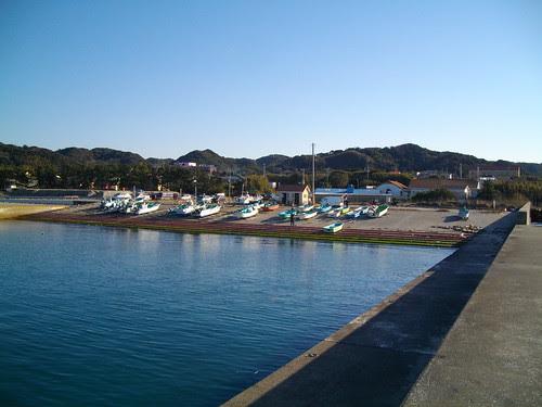 千葉県房総半島舘山の釣りポイント
