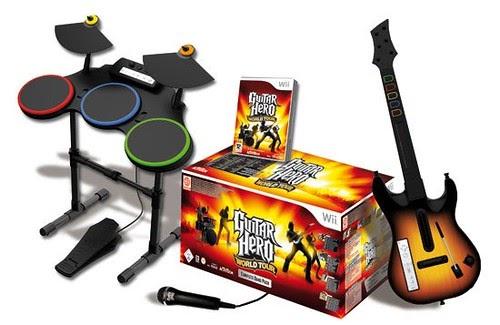 Guitar Hero Rock Band Wii: Guitar Hero et les Wiimotes ...