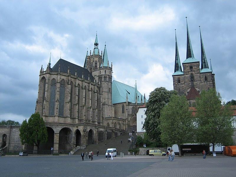 Archivo:Dom und Severikirche in Erfurt.JPG