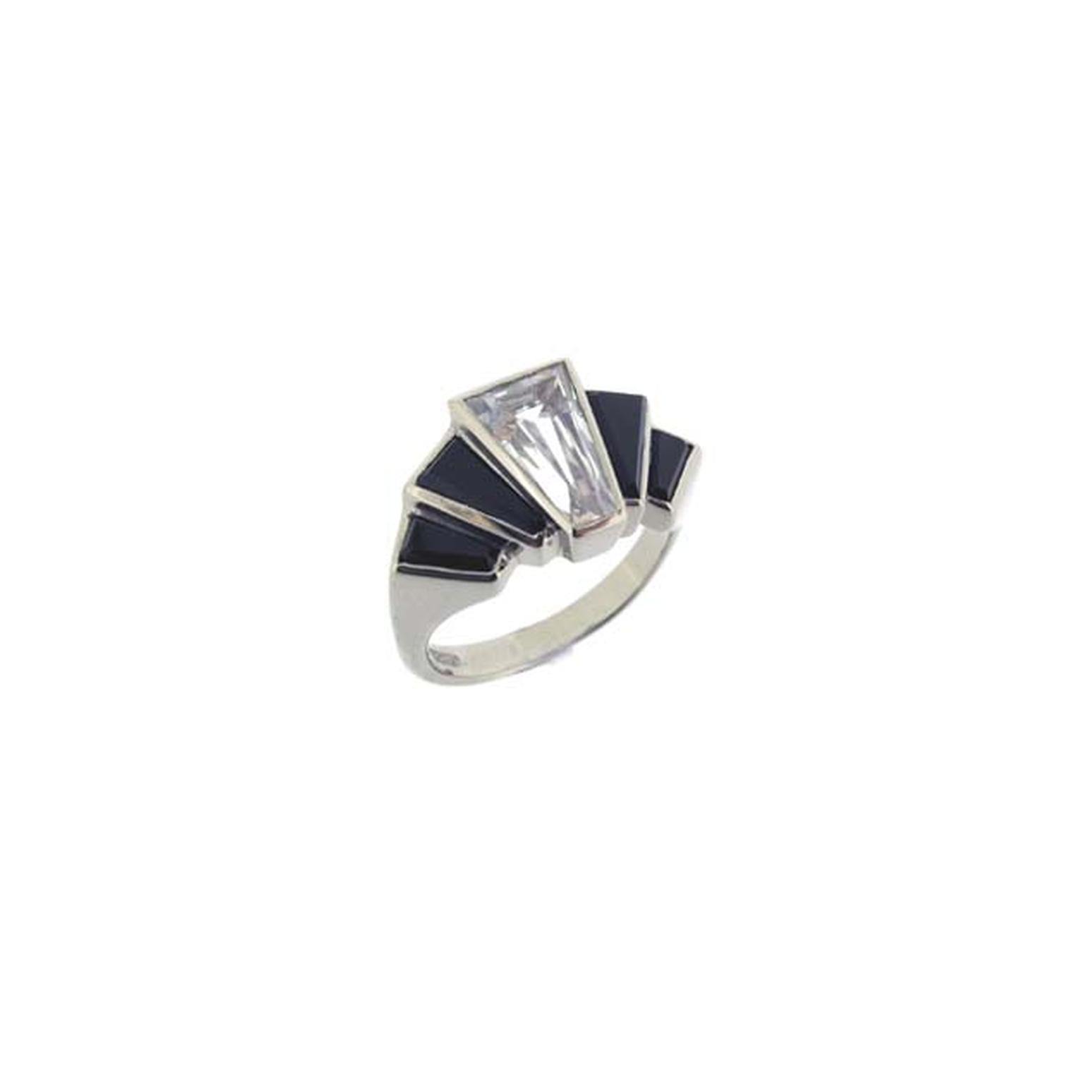 Art Deco Style Engagement Ring From Baroque Jewellery In