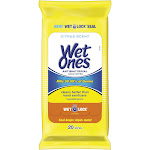 Wet Ones Antibacterial Hand Wipes Citrus Scent Travel Pack - 20 Count