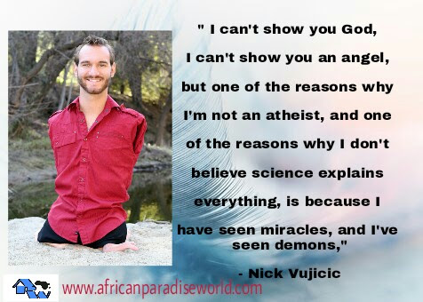 One Most Powerful Inspiration Quote Of Nick Vujicic For All Christians