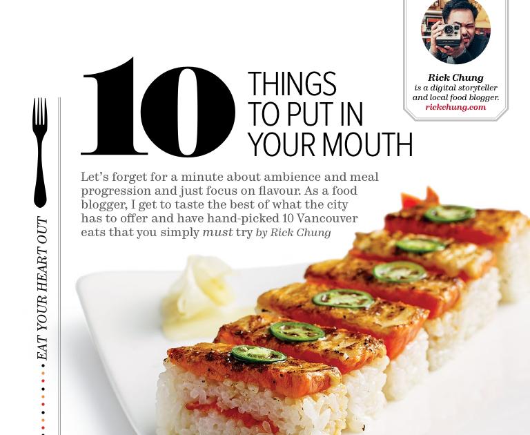Restaurant Food Magazine