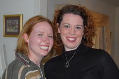 Lauren and Maggie